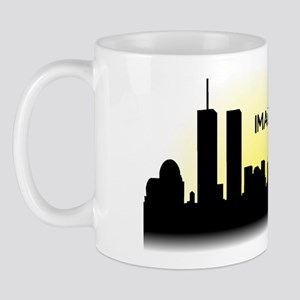 Imagine No Religion Twin Towers Mug